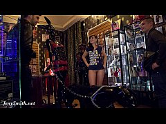 Jeny Smith - naked sales girl meet customers in...