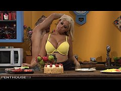 Busty Blonde Sex addict Bridgette B gets her Sh...