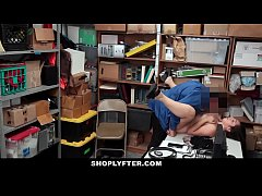 Shoplyfter - Sexy Teen Learns Lesson After Stea...