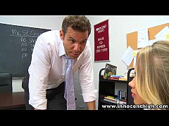 InnocentHigh Smalltits blonde teen Britney Young fucked teacher