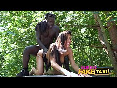 Female Fake Taxi Horny driver Princess Jas is h...