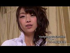 Subtitled Japanese AV legend Tsubaki Katou POV ...
