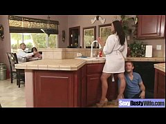 Busty Housewife Love Hard Sex On Camera mov-27
