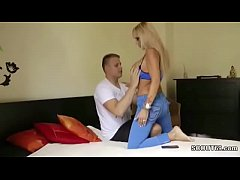 MILF mother Seduce 18yr old Young Boy with Big ...