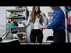ShopLyfter - Hot Latin Teen Shoplifter Caught A...