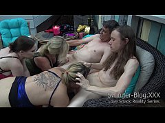Busty Swingers Have Risky Outdoor Orgy With a H...