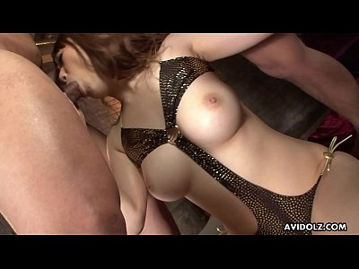 Japanese brunette, Yui Takashiro likes mmf, unc...