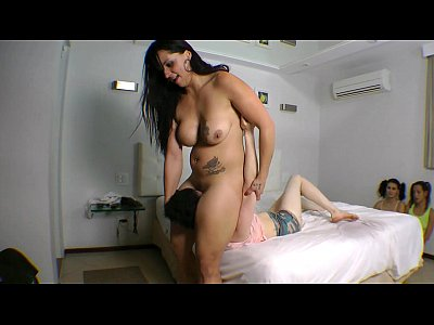 Facesitting Big Butt Domination 3 Slaves- Free Video
