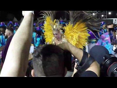 Bastidores do Carnaval 2019 - Rosas de Ouro - Ellen Rocche