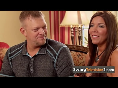 Amateur swinger couples try swinging for the first time