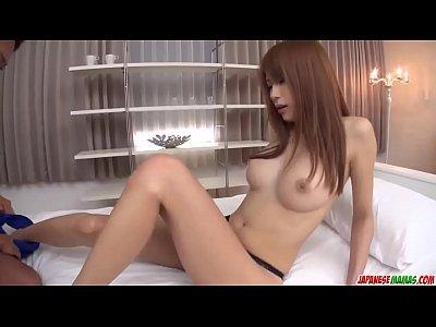 Nami Itoshino sucks, fucks and swallows big tim...