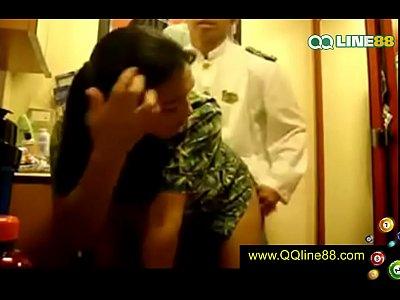 เรื่องอื้อฉาว – นักบินกับแอร์โฮสเตสสาวของสายการบินไทย มีเซ็กส์กัน !!