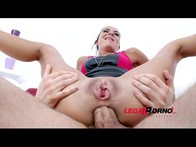 Anal nymphs Inga Devil & Nataly Gold rough double anal orgy