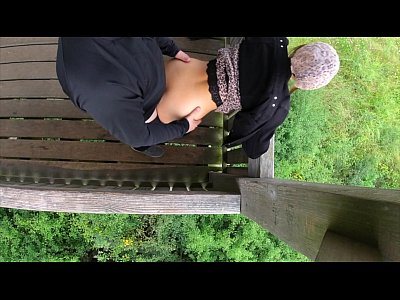 first date risky outdoor sex with cute girl -pr...