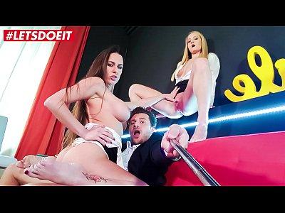 LETSDOEIT - Busty Teen Mea Melone Fucked Hard By Spanish Swinger Couple