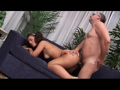Dirty father comforts his young daughter on his own way...