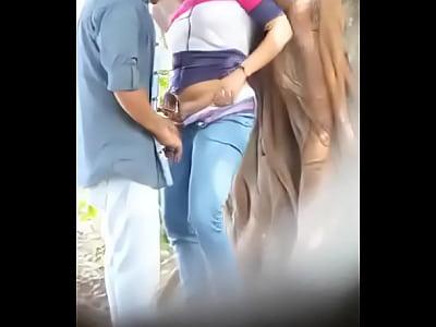 porno video por En el parque