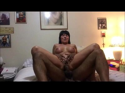 Horny Cougar Fucked in her Ass by a Big Black Cock
