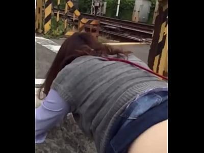 Japanese slave public