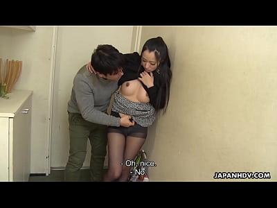 Japanese housewife, Sumire got satisfied, uncen...