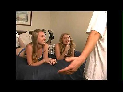 Two Hot Chicks Give A Nice Handjob - JustBangMe.com