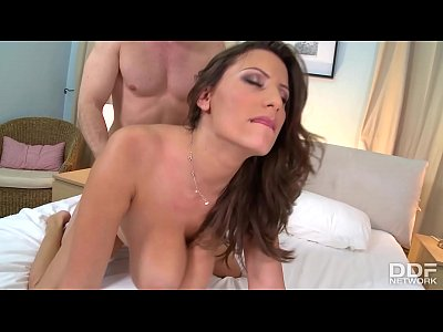 Busty Milf Sensual Jane Rides Hard cock for that Orgasm