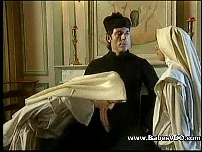 Nuns fuck with Priest and fisting