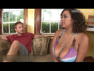 Busty daughter striptease