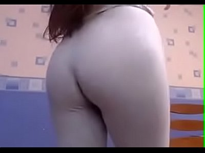 Sexy girl in Leggings squirted from tokens