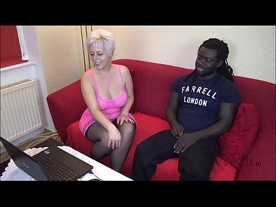 Black Boy wigh MONSTER COCK Fucks German Houswife