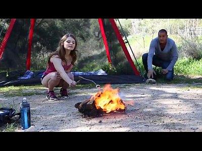 FantasyHD Young Girl Camping sex