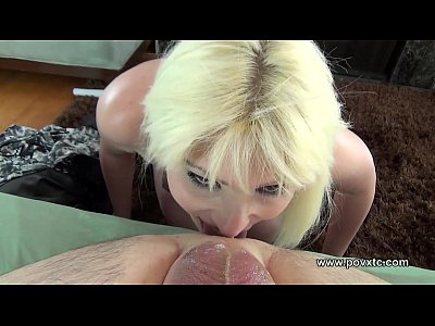 Dirty mouth blonde tit fucks and rims man