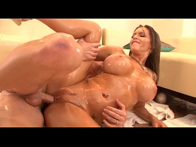 Jenna Presley in Oil (wet)