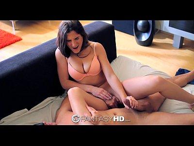 HD FantasyHD - Molly Janes face gets blasted wi...