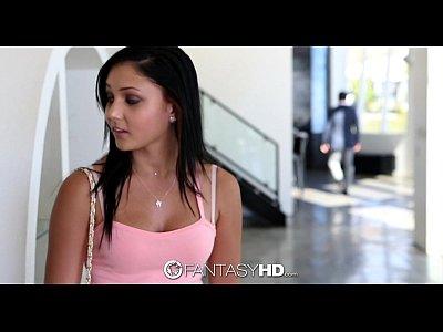 FantasyHD - Sexy little babysitter Ariana Marie...