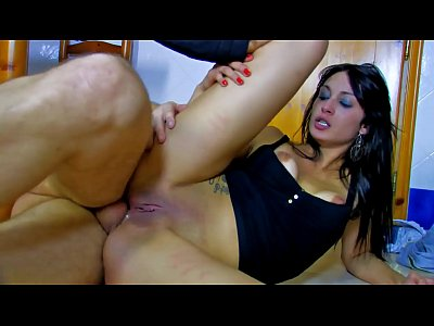 Hot spanish babe brutal pussy and ass fucking
