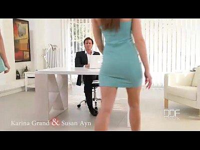Office Adventures-Luxury Secretaries fuck the Boss