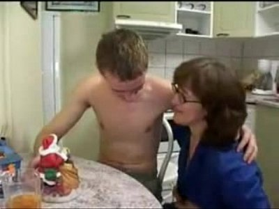Russian sex mom boy hot