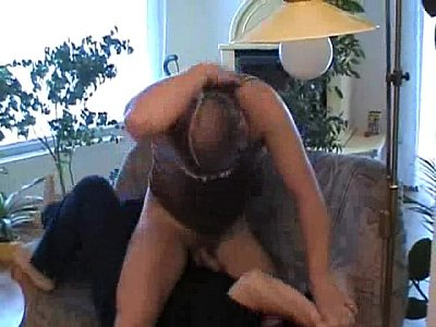 Chubby mom fucked by friend