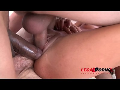 Eveline Dellai Assfucked by 4 Studs with DP & Triple Penetration