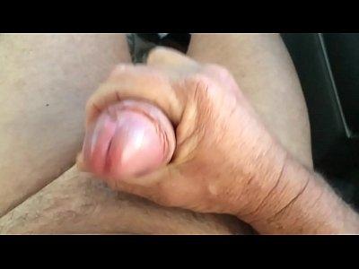 Hand Job to a Great Cumshot Grandpa