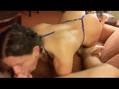 Curvy nerdy amateur with Insane body fucks her boyfriend Richard Sutherland!