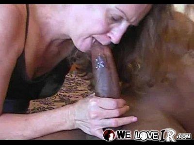 white milf gets black dick