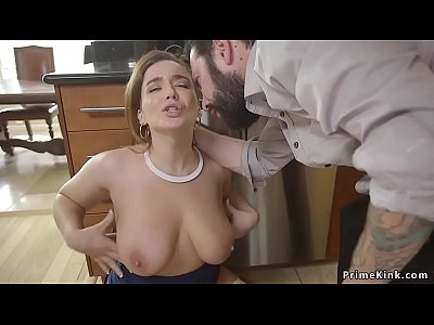Guy anal fucks wife and her step sister