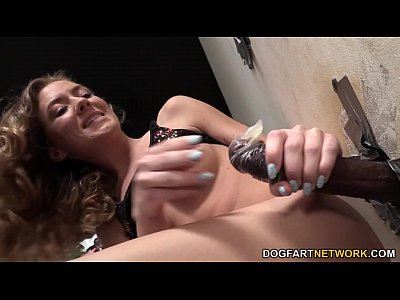 Alison Faye Sucks Black Cock At A Glory Hole