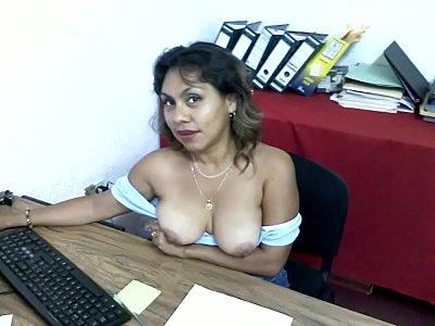 Elisa Torres Lopez Sexo en la Oficina