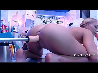 Siswetlive.com *** Young Girl Fuck Machine Porn Video