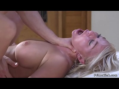 Huge tits Milf paddled and fucked