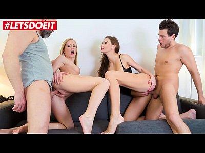 LETSDOEIT - Spanish Couple Spice Up Their Sex Life With Teen Swingers (Tina Kay)