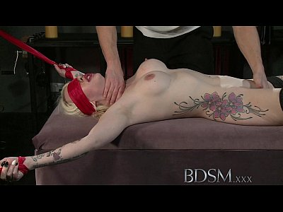 porn free in BDSM XXX Master shows his softer side to young horny submissive